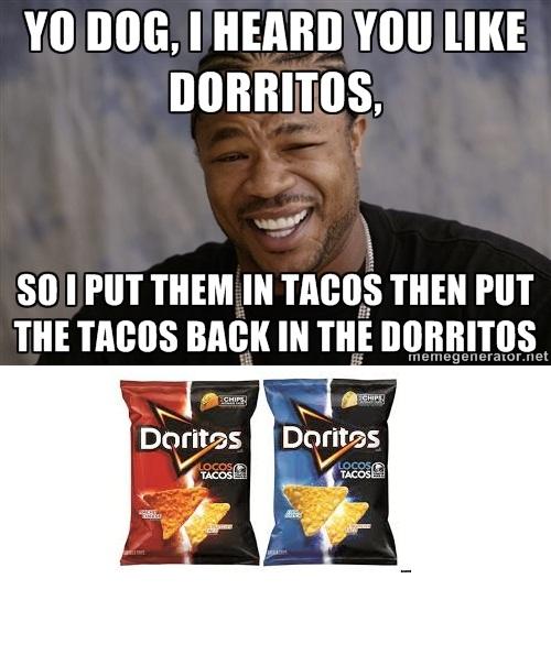 "100% OC XHibit. OC BBYGURL. I HEM""! Ilia so I PM mm IN PM. only 1 ""R"" m8 dorritos Locos tacos Taco bell OC Text Color Cars crashes shit"