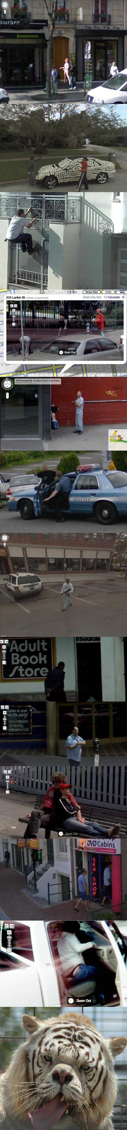 12 Embarrassing Google Earth Photos. . II HIE Dino Porn