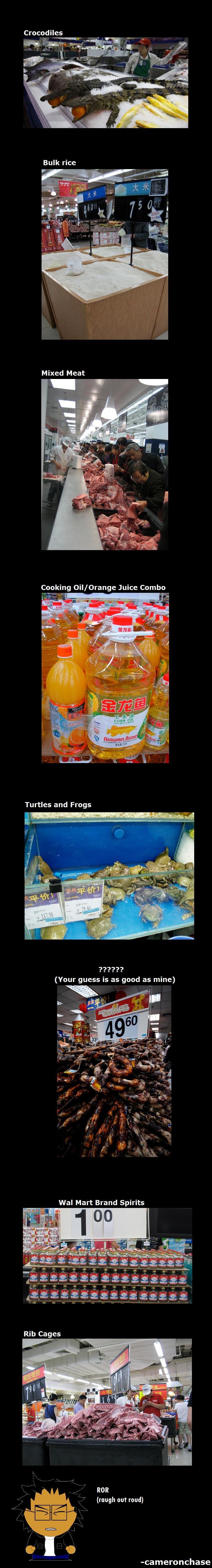 8 Things only at Japan Walmarts. Part 2- /funny_pictures/451852/8+MOAR+Things+... /> Tips and Tricks! /funny_pictures/450222/Funnyjunk+101/. Crocodiles Mixed Japan walmarts lol