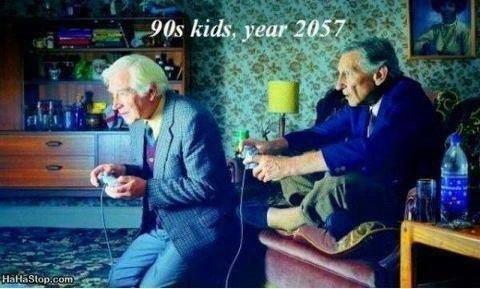 90's kid. .. 90's kids in 2057 funny