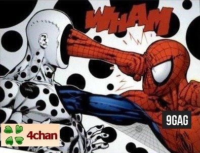 9gag. .. I prefer 9gag be like ultimate spider-man, dead. 9gag I prefer be like ultimate spider-man dead