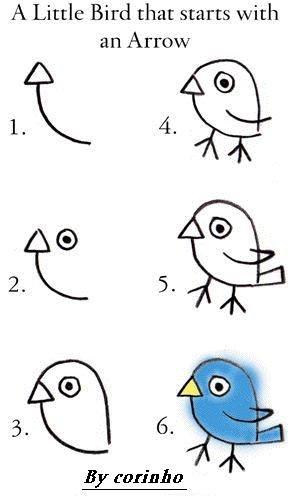 A little bird that starts with an arrow.. try it! . A Little Bird that starts with an Arrow By corinho. epic little Bird