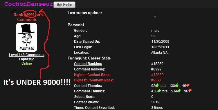 Accomplishment on FJ. OH I was sooo THRILLED!.. nice bro, your from atlanta too? accomplishment under rank