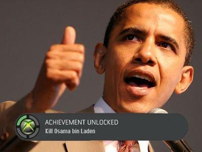 Achievement Unlocked. . i' st ACHIEVEMENT H. till mama bin Laden. DO NOTHING --> Win noble peace prize Achievement unlocked kill osama