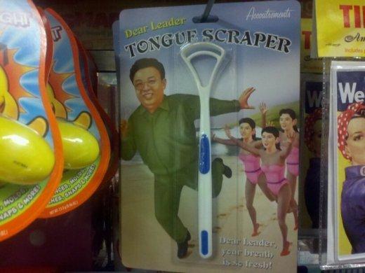 Admin tongue scraper. but why?!. Admin tongue scraper but why?!