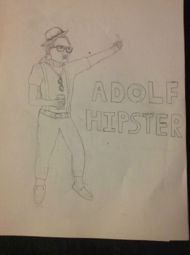 Adolf Hipster. #OCCUPYPOLAND.. Very related. adolf hipster adolf hipster The Game eat a dick Black Men