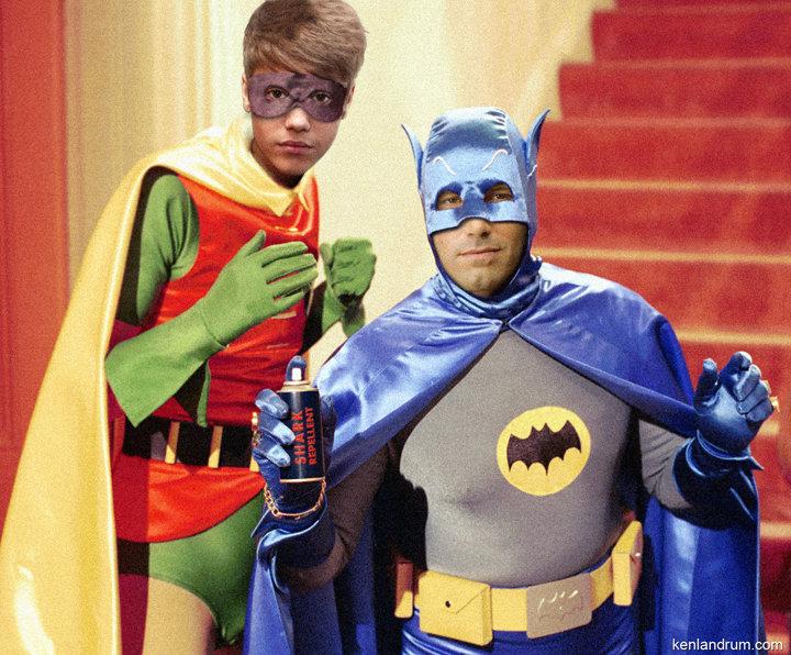 Affleck-Bieber Batman & Robin??. Batman vs Superman Casting.. kill me now .... affleck Bieber batman robin Superman vs