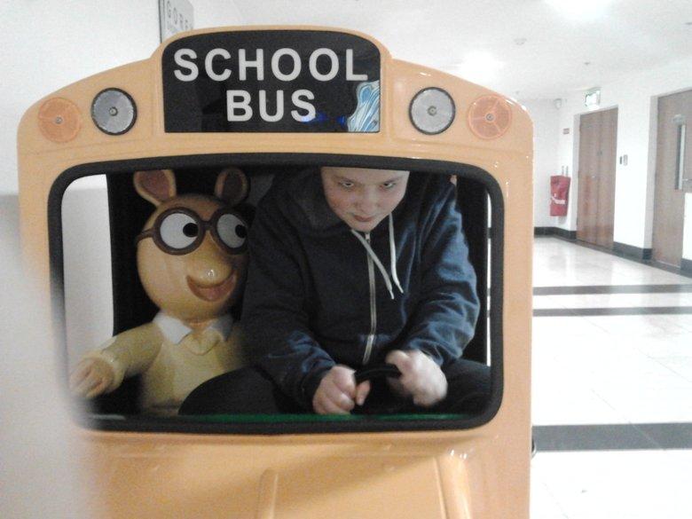 All aboard the molestation bus. 100% OC. arthur takes it Anal