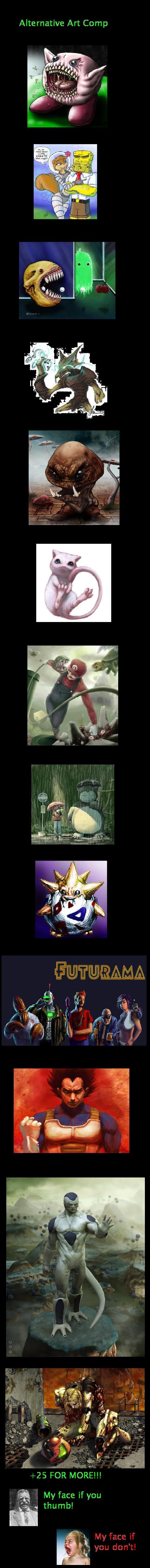 alternative art. alternative art comp. Alternative Art Comp. Why does leila have 2 eyes? comp Alternative Art Pokemon