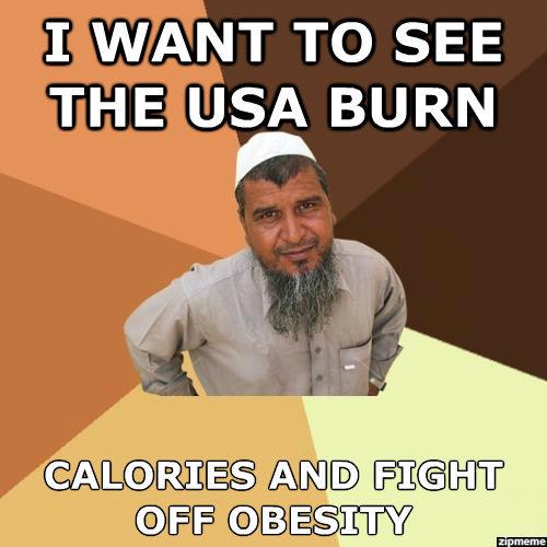 America. Boom. I WANT TO SEE THE ; A BURN ALA