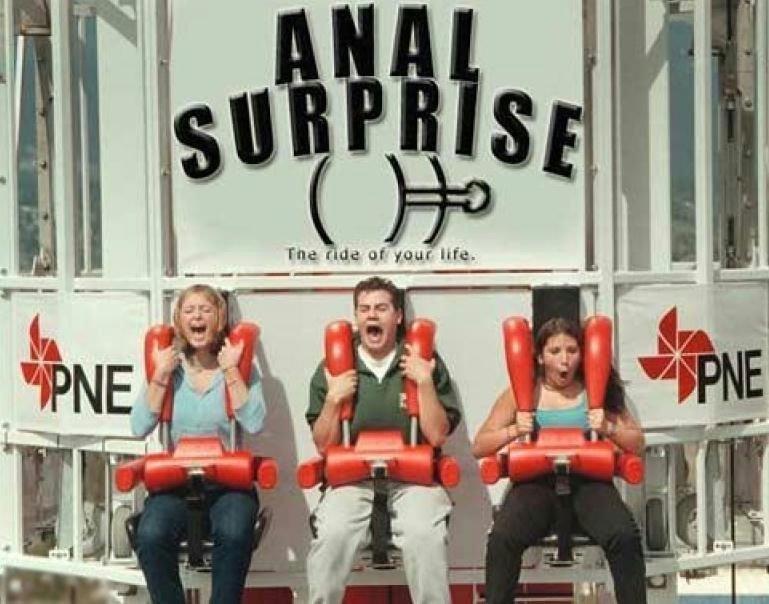 Anal Surprise. . Anal surprise Theme park ride