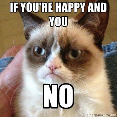 Angry Cat. it clap your hands... clap..................clap?.. blue? Angry Cat it clap your hands clap? blue?
