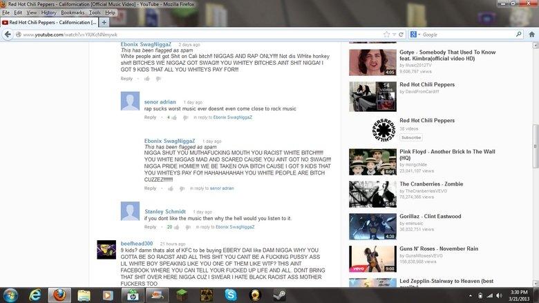 Angry Commenter. Las etiquetas son una mentira.. Not Spanish