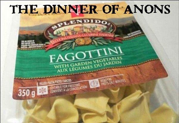 Anon's Dinner. hehe... anon's dinner.. i would say OP's dinner anons dinner funny