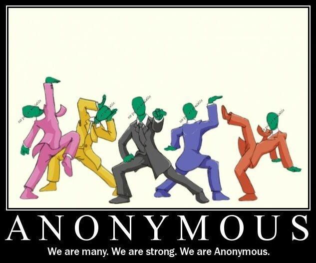 Anonymous. Go anonymous!. ANONYMOUS We are . We are We are. GO GO ANONYMOUS RANGERS!!! anonymous