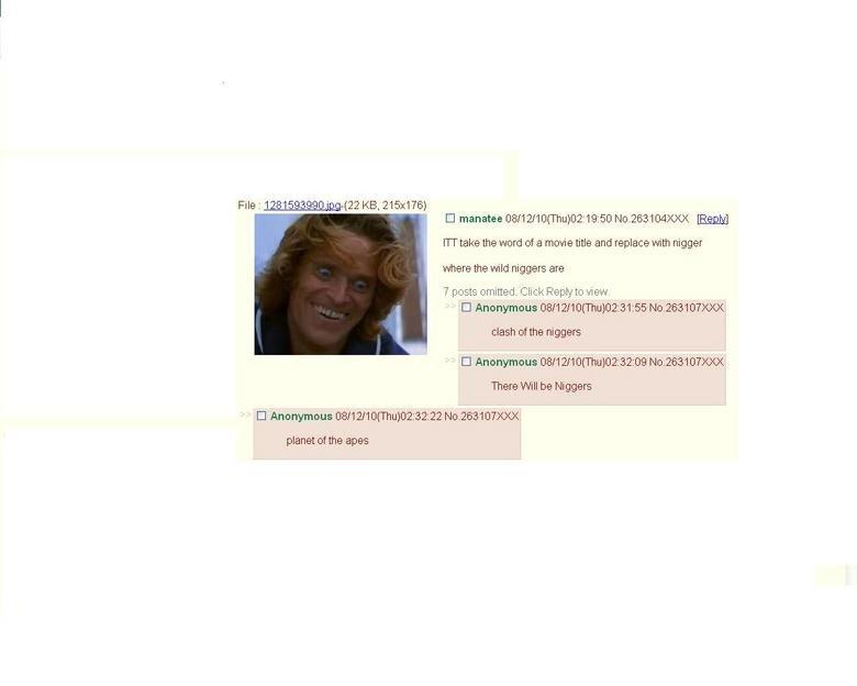 Apes. enlarge.. 4chan failure. im kinda Racist Rice