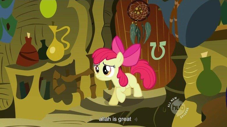 Applebloom. Youtube Audio Transcription is, truly, infallible.. ah is great ). NMC applebloom allah ponies My Little Pony
