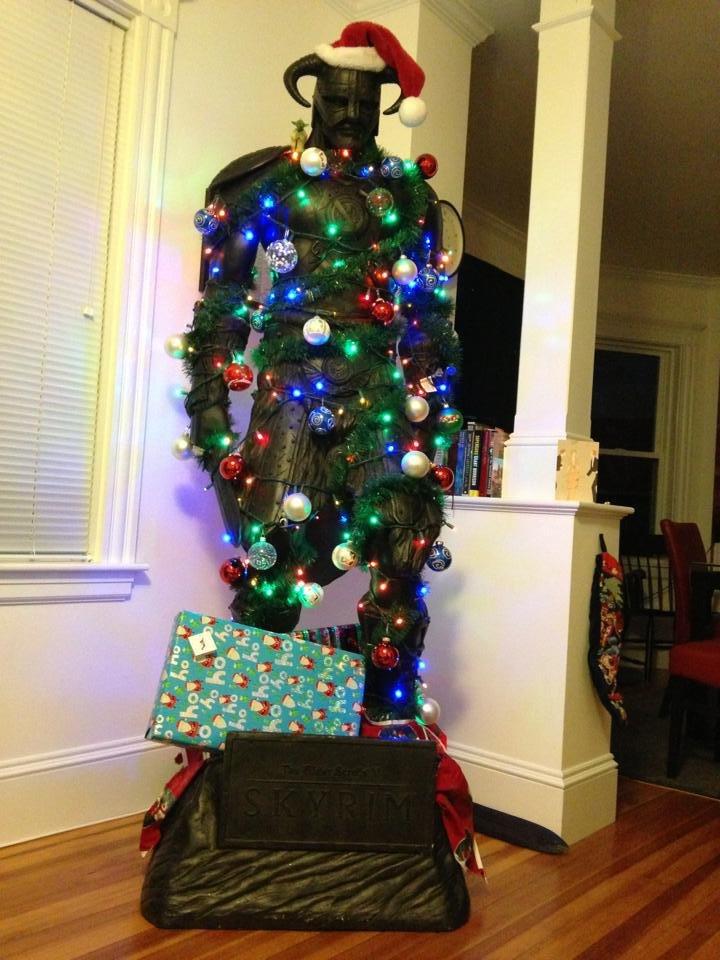 Are you prepared for Christmas?. .. Fa la la la laaaa, la FUS RO DAH! Are you prepared for Christmas? Fa la laaaa FUS RO DAH!