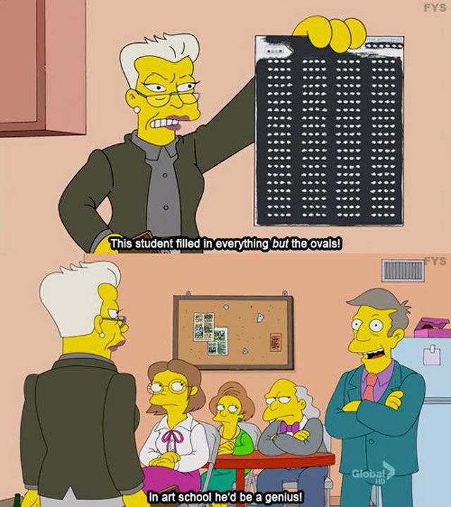 Art!. Source: Simpsons.. Now ez art.. Art! Source: Simpsons Now ez art