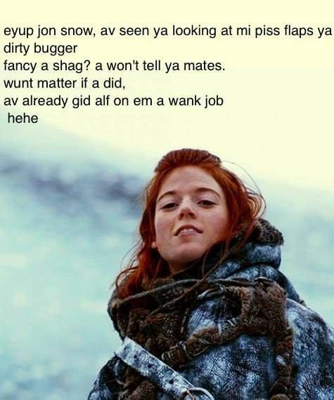 asdgh. . awn jun snow, av seen ya looking at mi piss flaps ya dirty bugger fancy a shag'? a WENT tell ya mates. wunt matter if a did, av already gid alt on em a asdgh awn jun snow av seen ya looking at mi piss flaps dirty bugger fancy a shag'? WENT tell mates wunt matter if did already gid alt on em