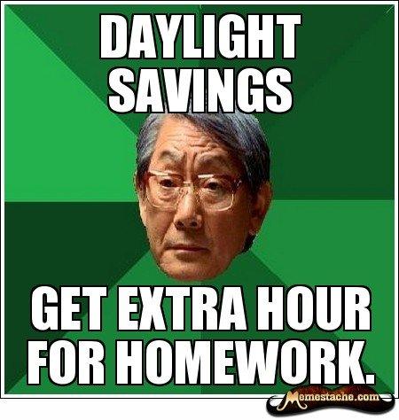 Asian Dad. Daylight Savings. GET EXTRA min Mature'. uig me, Asian funny OC dad