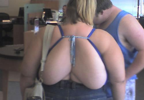 At walmart. lol.. back tits!!!!!!!!!! At walmart lol back tits!!!!!!!!!!