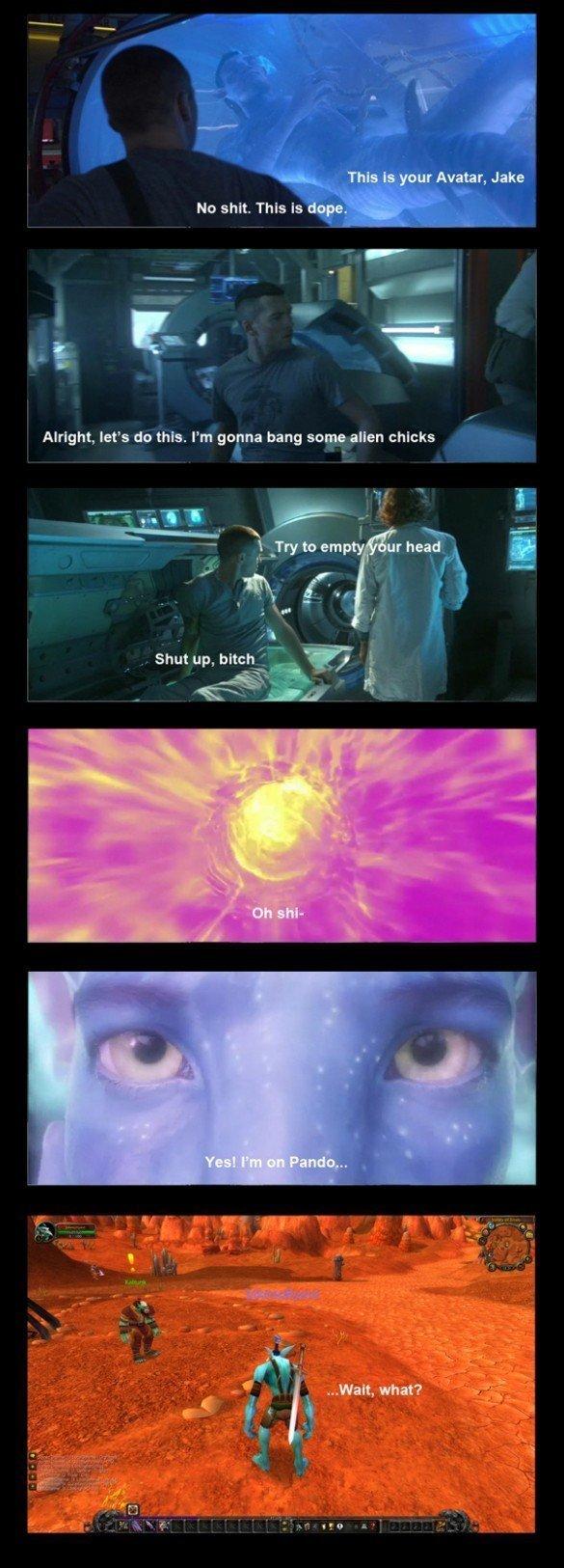 Avatar. .. she trolled him hard Avatar she trolled him hard