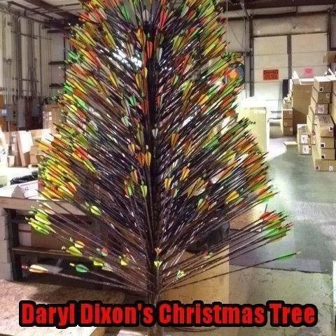 Daryl Dixon's Christmas Tree. . daryl dixon Christmas Tree