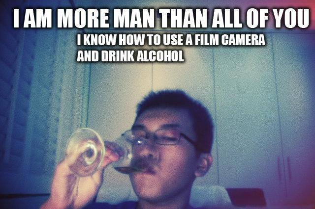"DERP. My friend getting ""drunk"" PARTY HARD. I AM Milli! will THAN Aid, RIF Will I HEW HIM III USE -ll. drunk"