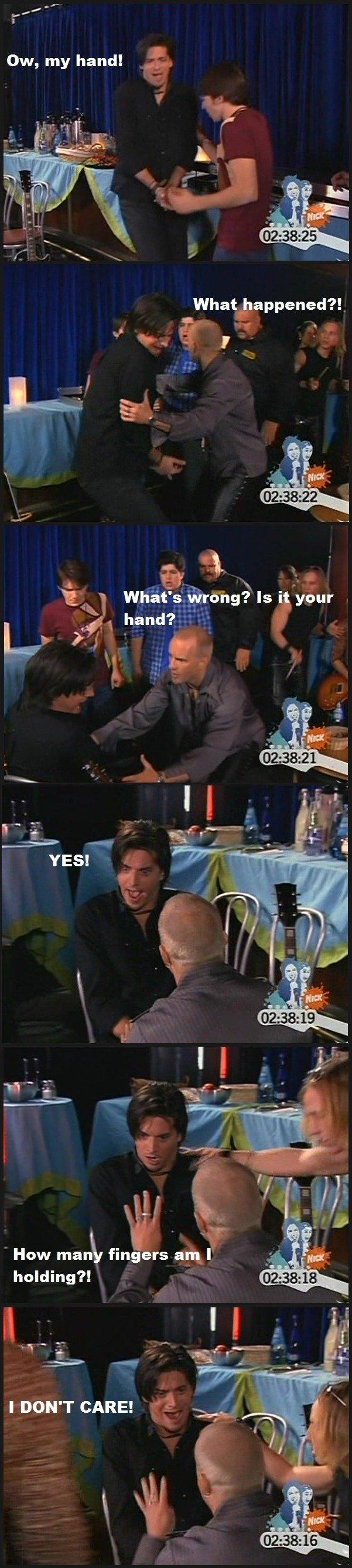 "Devin Malone. . F' handa"" How man fingers aful holding'?, Devin Malone F' handa"" How man fingers aful holding'?"