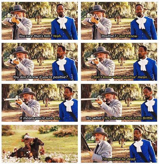 Django-Style. Dr. King Schultz is a beautiful man!. Django Dr King S