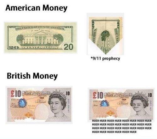 Dollars VS Pounds. Huer Majesty. American Money. MFW I spend it. Dollars VS Pounds Huer Majesty American Money MFW I spend it