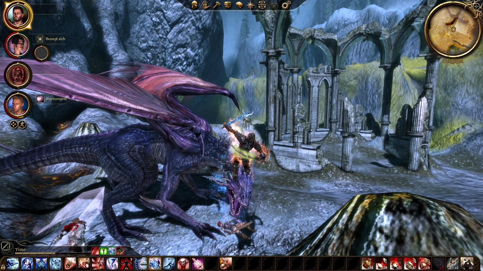Dragonkill. .. Word, this battle was a bitch dragon age warden screenshot origins