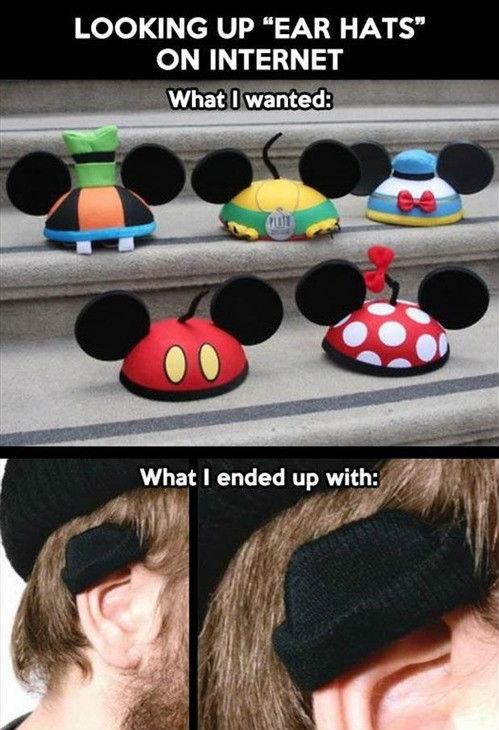 """Ear hats?. . LOOKING UP """"EAR HATS"""" ON INTERNET What : ear hat Warm Ears"""