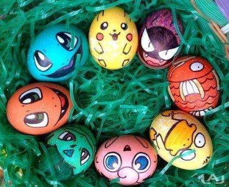 Easter Pokemon eggs. . Easter Pokemon