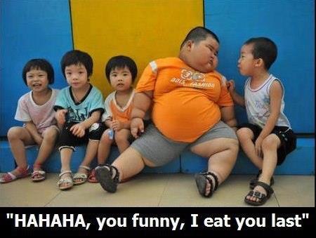 "Eat you last. 2fun2quit.com/archives/3529. HAHAHA, you funny, I eat you last"" Eat you last 2fun2quit com/archives/3529 HAHAHA funny I eat last"""
