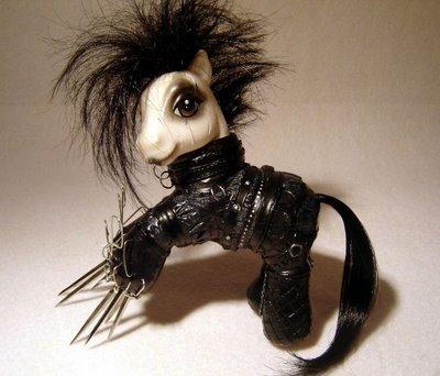 edward scissor pony. BE HAPPY YOU COMPUTER DOUCHEFAGS AND THUMB !.. I shall thumb. I will thumb up, and then I will thumb down. fuck you