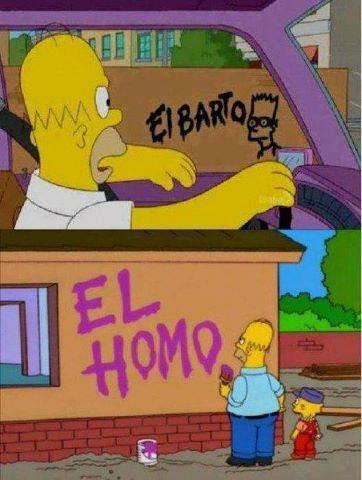 """El Homo. .. Season 14, episode 4; """"Large Marge"""" El Homo Season 14 episode 4; """"Large Marge"""""""