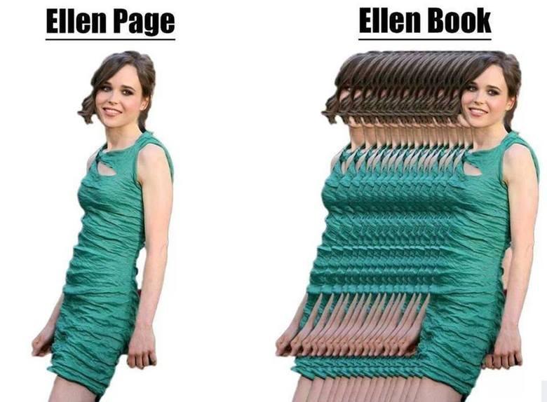 Ellen. .. She looks like she should be accompanied by this sound effect. Ellen She looks like she should be accompanied by this sound effect