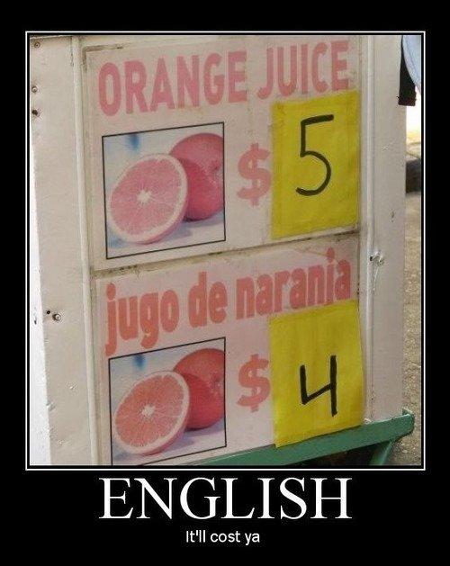 English please.... . ENGH It' ll cost ya. hell i'd pay more for the narnia juice English please ENGH It' ll cost ya hell i'd pay more for the narnia juice