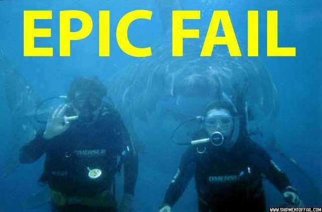 epic diving fail. . EPIC FAIL. Eep. divers Shark fail