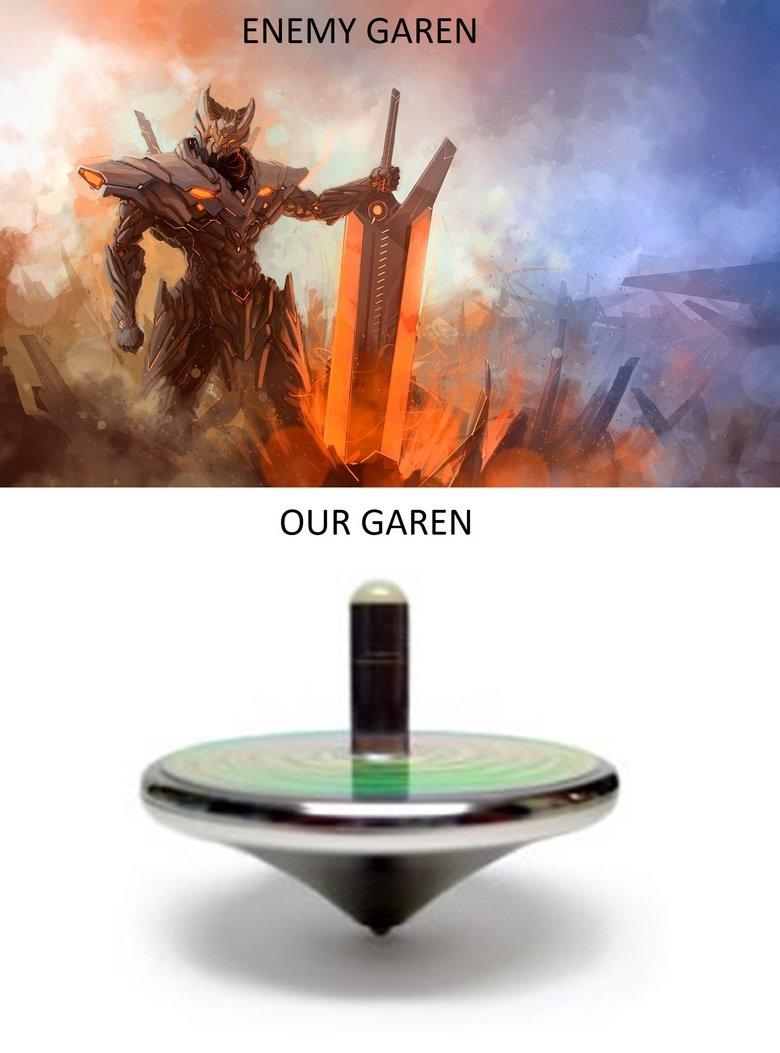 Every fkig game. . OUR GAREN. equally devastating? Every fkig game OUR GAREN equally devastating?