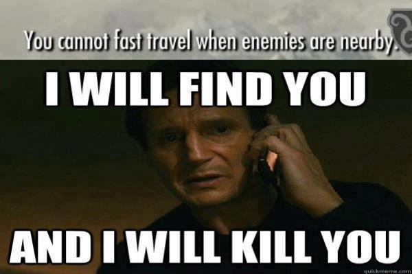 Every Time!!!!. . skyrim