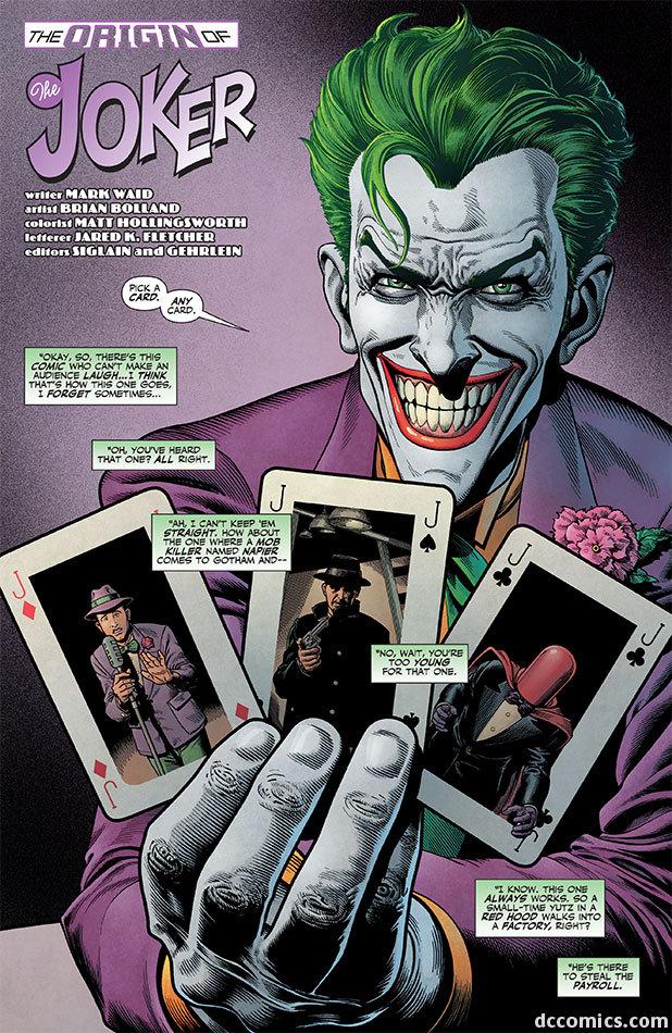everyone loves the joker part1. hai guise i was reading some online comics and i found the origin of<br /> the joker, i got a good deep laugh, so i hope y origin joker hahaha
