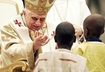 Evil Evil Pope. . Evil Pope