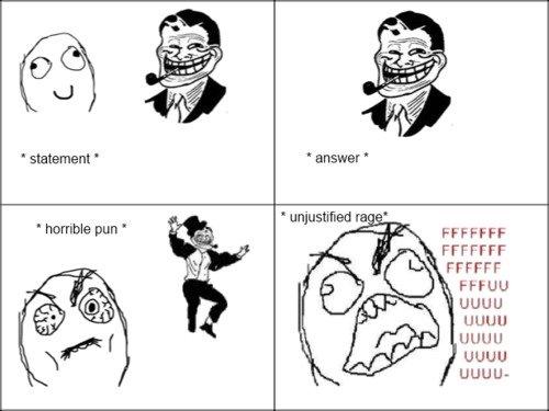 """evolution of trolldad. . horriible pun Fl-"""" FORFIT FFCCFF FFA LILIUM evolution"""