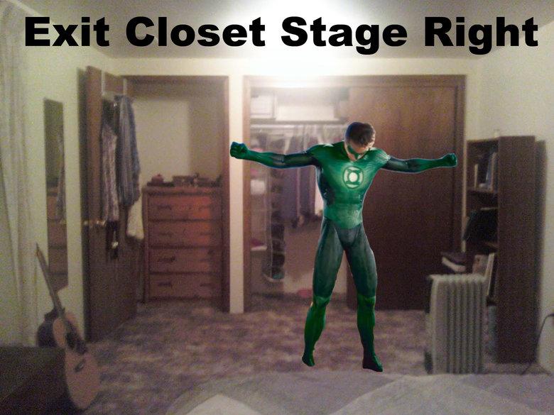 Exiting the Closet. Source: hollywoodleek.com Source: hollywoodleek.com Source: hollywoodleek.com Source: hollywoodleek.com. funny Movie Green Lantern