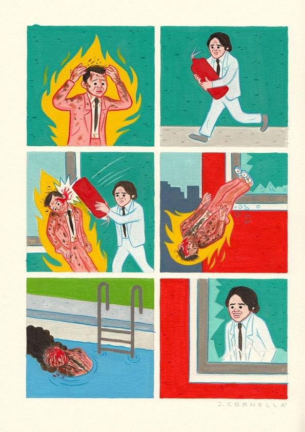 Extinguish. Not mine. Joan Cornella's.. Lesson of today! bitch wtf kill