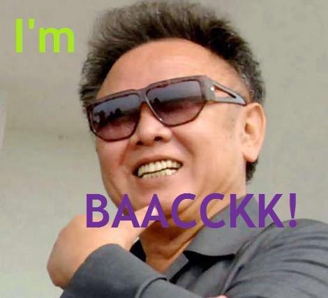 HE'S BACK!. North Korea is Best Korea.. Hes back admin korea return thedesigner suck Hairy Horse Penis