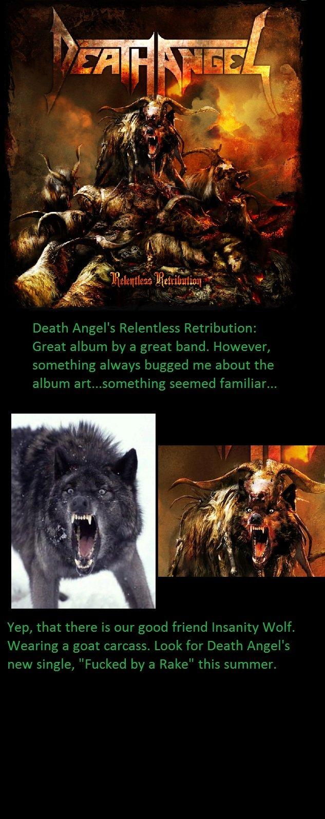 Heavy Metal Meme. Just an observation I noticed. Insanity Wolf death angel meme